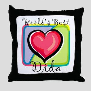 WB Grandma [Bengali] Throw Pillow